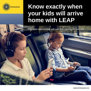 Empowering Vehicles: Know exactly when your kids will arrive home with LEAP