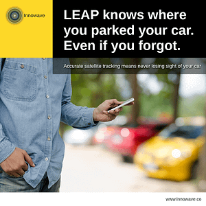 Empowering Vehicles: LEAP knows where you parked your car. Even if you forgot.