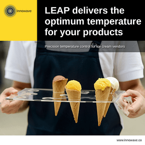 Improving Machinery: LEAP delivers optimum temperature for your products