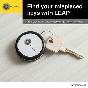 Improving Lifestyle for People: Find your misplaced keys with LEAP